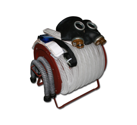 Противогаз шланговый БРИЗ-0303 (ПШ-1Б)
