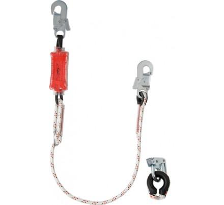 Строп веревочный одинарный регулируемый с амортизатором «aB11p»