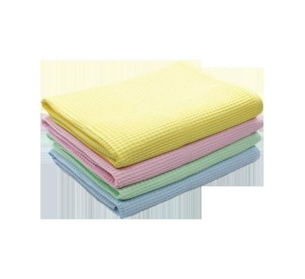 Полотенце вафельное 40х80 цветное