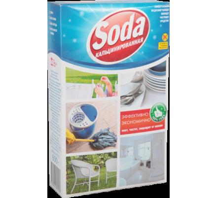 Сода кальцинированная 600 гр.