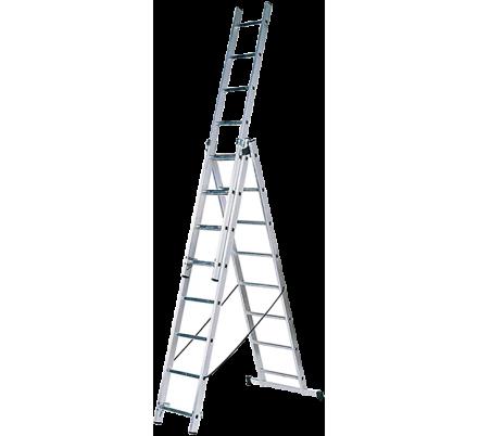 Лестница трехсекционная 3х12