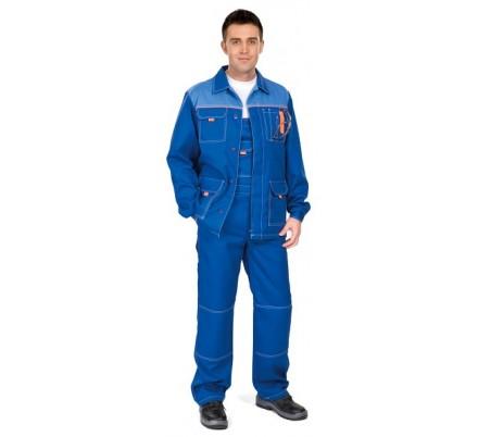 Куртка мужская летняя «Сити» (васильковая)