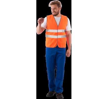 Жилет сигнальный оранжевый (ФСС)