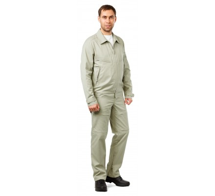 Куртка мужская летняя «Пилот» бежево-оливковая