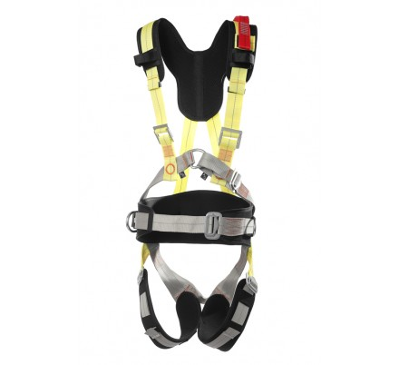 Страховочная привязь «АЛЬФА 5.0» с плечевыми и ножными накладками
