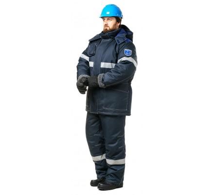 Костюм мужской «ОйлСтат-2» для защиты от нефти, пониженных температур и статического электричества