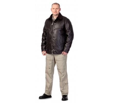 Куртка мужская кожаная для лётного состава